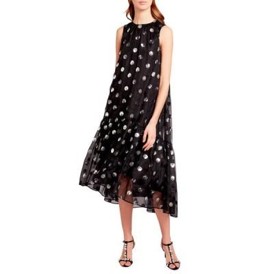アーデム レディース ワンピース トップス Sequin-Dotted Silk Chiffon Dress