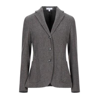 ボリオリ BOGLIOLI テーラードジャケット 鉛色 42 バージンウール 75% / ナイロン 25% テーラードジャケット