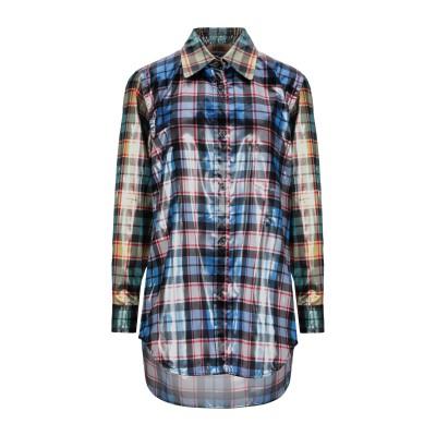 ヌメロ ヴェントゥーノ N°21 シャツ スカイブルー 40 ポリエステル 100% シャツ