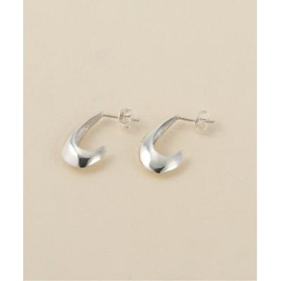 【ラ トータリテ】 Half Loop Earrings レディース シルバー フリー La TOTALITE