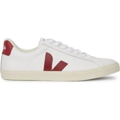 ヴェジャ Veja レディース スニーカー シューズ・靴 Esplar White Leather Sneakers White