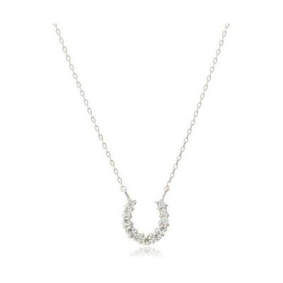 ディーコレクション D-COLLECTION K18ホワイトゴールドダイヤモンドネックレス 0.1ct DDP-30
