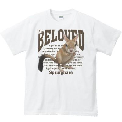 トビウサギ/半袖Tシャツ