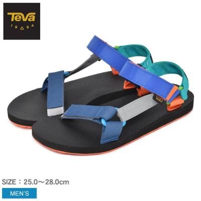 テバ サンダル メンズ オリジナル ユニバーサル コトパクシ TEVA 1114330 ブラック 黒 青 ブルー マルチカラー スポーツサンダル