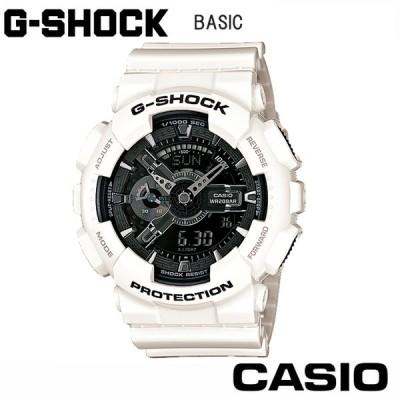 【正規販売店】カシオ CASIO G-SHOCK GA110GW7AJF ホワイト Gショック  メンズ ホワイト