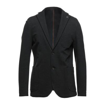 BARBATI テーラードジャケット スチールグレー 54 レーヨン 65% / ナイロン 30% / ポリウレタン 5% テーラードジャケット