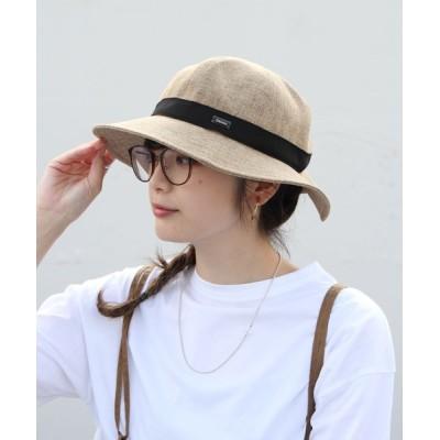 帽子 ハット ORCIVAL/オーシバル ラフィアライクハット RAFFIA LIKE HAT RIBBON RC7146