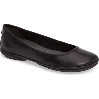 カンペール CAMPER レディース スリッポン・フラット シューズ・靴 Right Nina Ballet Flat Black Leather