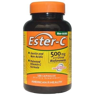 シトラスバイオフラボノイド配合エステルC、500 mg、120カプセル