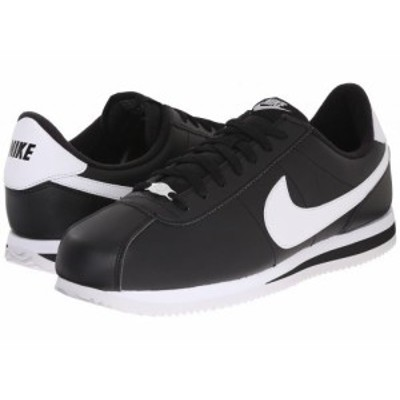 Nike ナイキ メンズ 男性用 シューズ 靴 スニーカー 運動靴 Cortez Leather Black/Metallic Silver/White【送料無料】