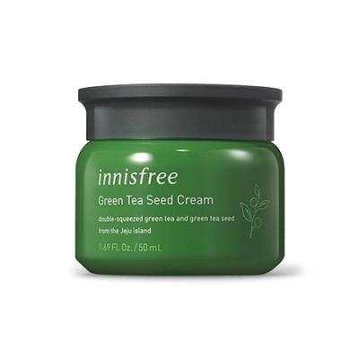 イニスフリー(Innisfree) グリーンティーシードクリーム50ml -  -  : 生の緑茶が肌を去る 水分をしっかりと保ち、シードオイルは水分バリアを形成します。 ::韓国コスメイニスフリー