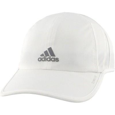 アディダス 帽子 アクセサリー レディース adidas Women's SuperLite Hat White/LightOnix
