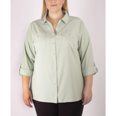 ニューヨークコレクション レディース シャツ トップス Women's Plus Size Blouse
