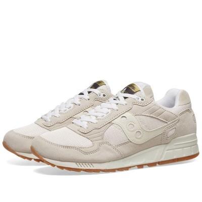 サッカニー Saucony メンズ スニーカー シューズ・靴 Shadow 5000 Tan/White