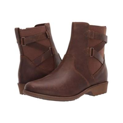 テバ Teva レディース ブーツ シューズ・靴 Ellery Ankle WP Pecan