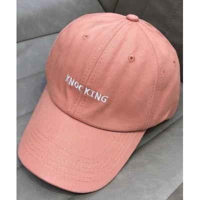 帽子 キャップ ロゴ刺繍キャップ