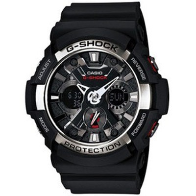 G-SHOCK アウトドアウォッチ・時計 【国内正規品】GA-200-1AJF   ブラック×シルバー