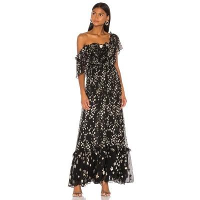 ラブシャックファンシー LoveShackFancy レディース ワンピース ワンピース・ドレス Ronny Dress Black