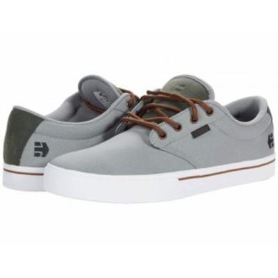 Etnies エトニーズ メンズ 男性用 シューズ 靴 スニーカー 運動靴 Jameson 2 Eco Grey/Green【送料無料】