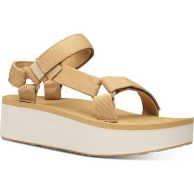 テバ Teva レディース サンダル・ミュール シューズ・靴 Flatform Universal Sandals Lark Tan