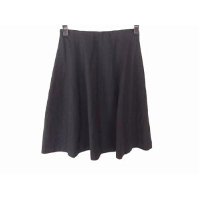 セオリー theory ミニスカート サイズ00 XS レディース 黒【中古】