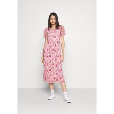 ヴィラ レディース ワンピース トップス VIMIRANDA MIDI DRESS - Cocktail dress / Party dress - cream pink cream pink