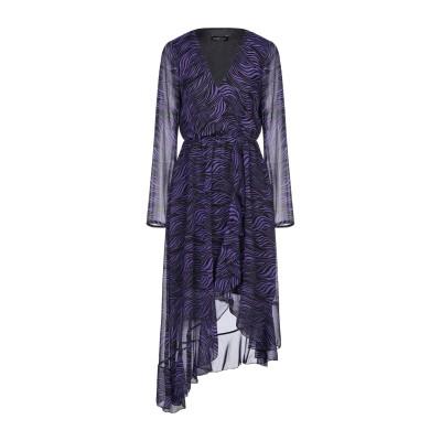 VANESSA SCOTT ミニワンピース&ドレス パープル S ポリエステル 100% ミニワンピース&ドレス