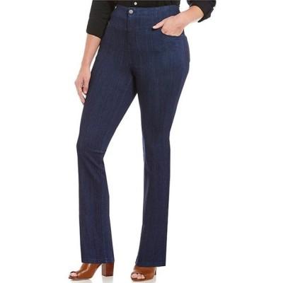 イントロ レディース カジュアルパンツ ボトムス Plus Size Waist Away High Rise Tummy Control Pants