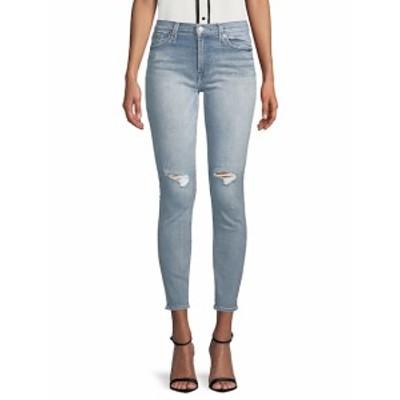 7 フォー オールマンカインド レディース パンツ デニム Distressed Ankle Skinny Jeans