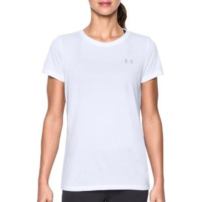 アンダーアーマー Under Armour レディース Tシャツ トップス Tech Twist Crewneck T-Shirt White