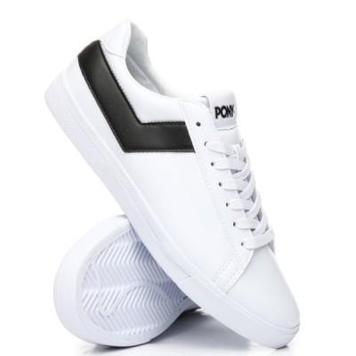【残り1点!】【サイズ:US8】ポニー Pony メンズ シューズ・靴 スニーカー top star lo core ul sneakers White