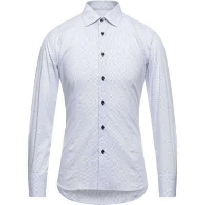 エレディ デル ドゥーカ EREDI DEL DUCA メンズ シャツ トップス Patterned Shirt White