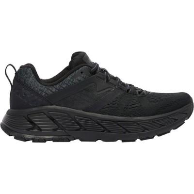 ホカ オネオネ HOKA ONE ONE レディース ランニング・ウォーキング シューズ・靴 Gaviota 2 Black/Dark Shadow