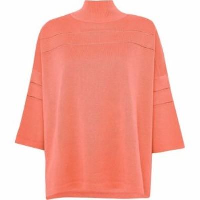 フレンチコネクション French Connection レディース ニット・セーター トップス Rosina Mozart High Neck Jumper Orange