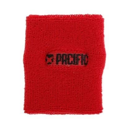 PACIFICテニス ドライ リストバンド PT17AM064 RDレッド