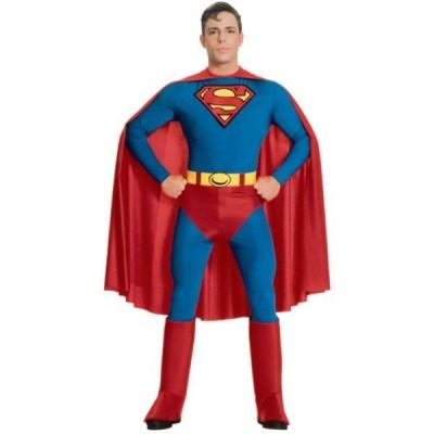 スーパーマン 衣装 、コスチューム (男性用)忘年会