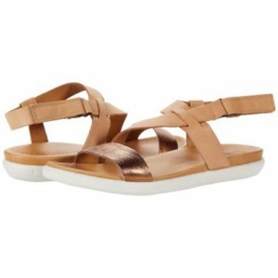 ECCO エコー レディース 女性用 シューズ 靴 サンダル Simpil Strappy Sandal Bronze/Lion【送料無料】