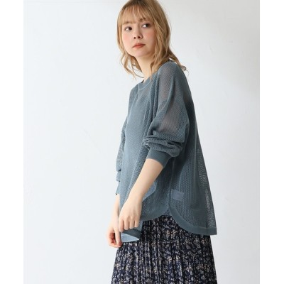 Honeys / メッシュ編アンサンブル WOMEN トップス > アンサンブル