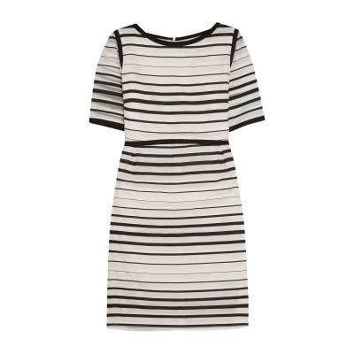 ゴート GOAT ミニワンピース&ドレス ホワイト 10 コットン 66% / シルク 34% ミニワンピース&ドレス