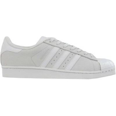 アディダス メンズ スニーカー シューズ Superstar Lace Up Sneakers Crystal White / Crystal White