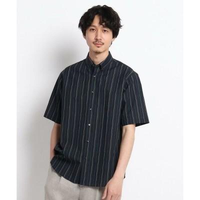 TAKEO KIKUCHI / タケオキクチ 【Sサイズ〜】リネンストライプシャツ