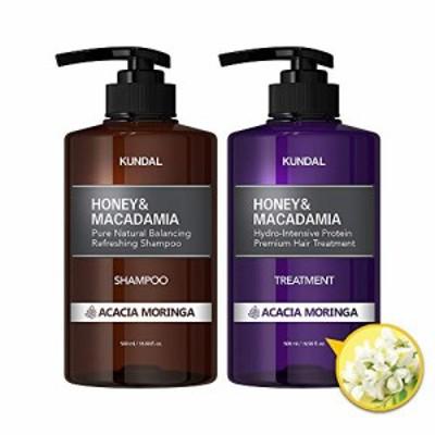 [kundal公式]プレミアムヘアケアスペシャルセット アカシアモリンガ・シャンプー500ml&トリートメント500ml premium hair care special