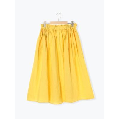 テレデランリネンギャザースカート