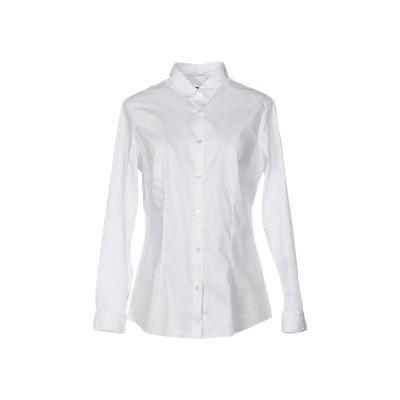 イレブンティ ELEVENTY シャツ ホワイト 40 コットン 97% / ポリウレタン 3% シャツ