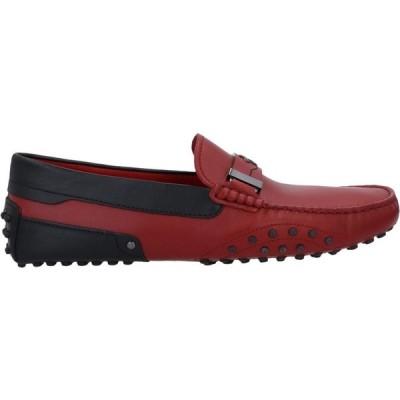 トッズ TOD'S for FERRARI メンズ ローファー シューズ・靴 loafers Brick red