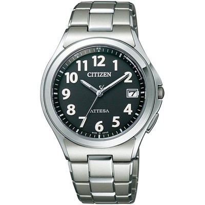 CITIZEN ATTESA シチズン アテッサ エコ・ドライブ電波時計 メンズ腕時計 ATD53-2846