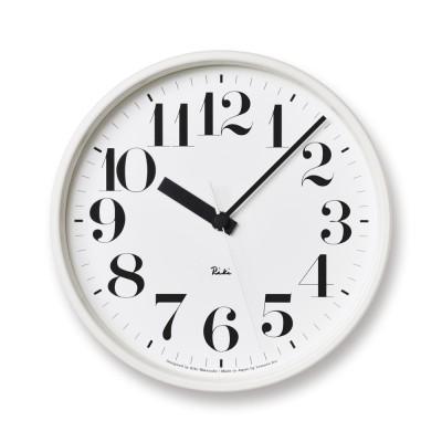 インテリア雑貨 日用品 時計 壁掛け時計 振り子時計 RIKI CLOCK/リキクロック電波時計  径20.5cm スチールフレーム H84316