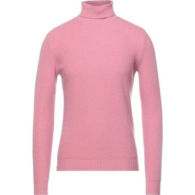 ポールメモリ PAUL MEMOIR メンズ ニット・セーター トップス Turtleneck Pink