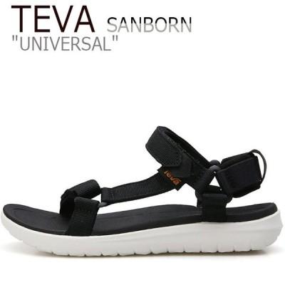 テバ ユニバーサル サンダル TEVA レディース SANBORN UNIVERSAL サンボン ユニバーサル BLACK ブラック WHITE ホワイト 1015160-BWHT シューズ