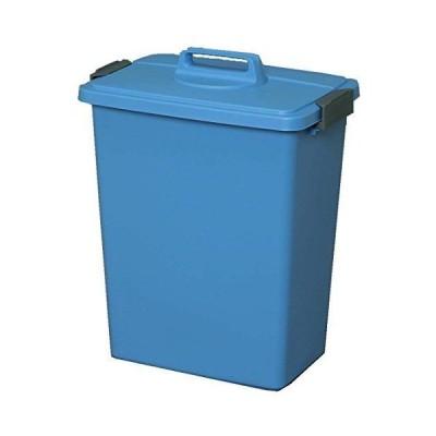 アイリスオーヤマ ゴミ箱 角型 ブルー 45L 幅45.2×奥行31.1×高さ57.8cm MK-45